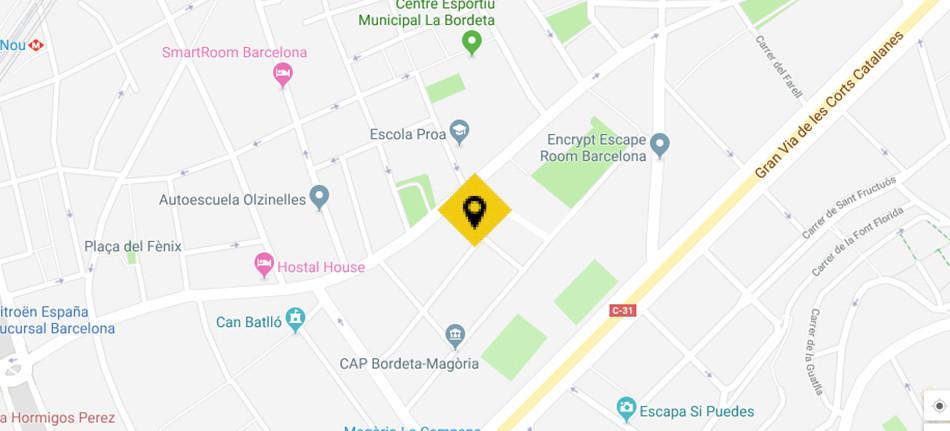 Sants Montjuïc - Resid. La Magoria, Vivienda, La Llave de Oro