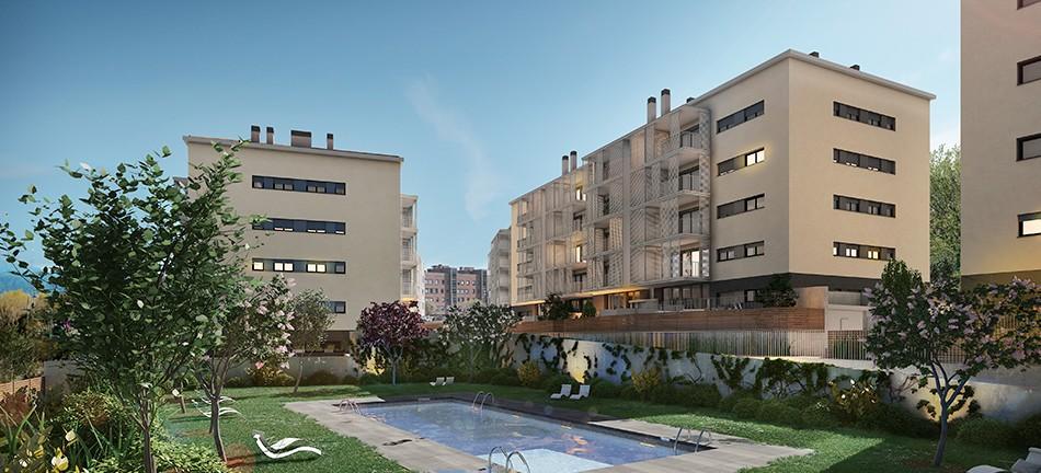Residencial Nou Sant Cugat, Vivienda, La Llave de Oro
