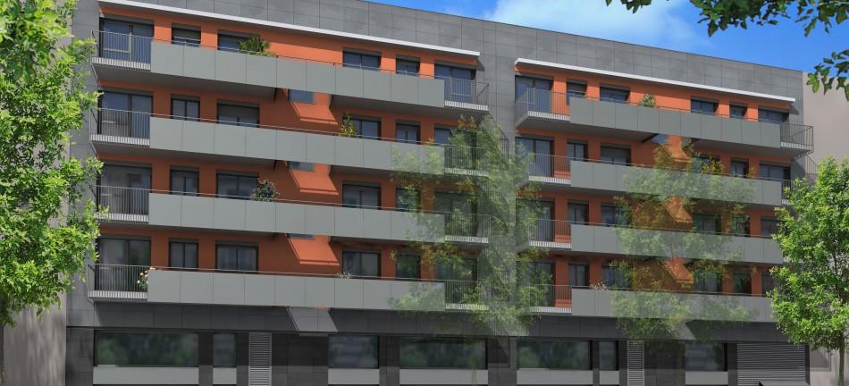 Gran Via Edifici Abanto - 1ª-2ª fase, Vivienda, La Llave de Oro
